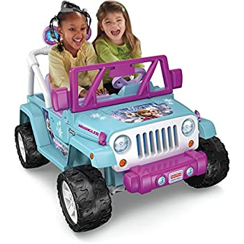 Fisher-Price Power Wheels Frozen Jeep Wrangler