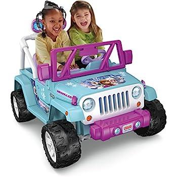 Fisher-Price Power Wheels Frozen Jeep Wrangler