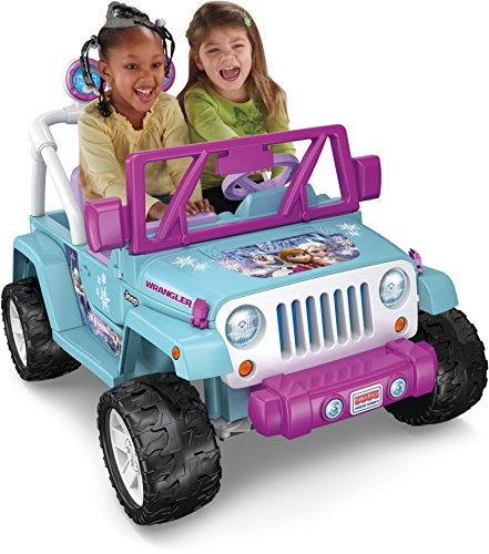Power Wheels Disney Frozen Jeep Wrangler (Frozen Car Open Doors)