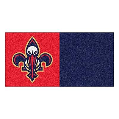 Fanmats NBA - New Orleans Pelicans Team Carpet Tiles