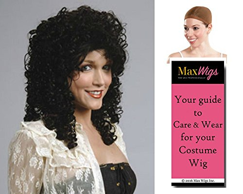 Can Can Dancer color BLONDE - Enigma Wigs French Moulin Long Curly Women Kang Bundle with Cap, MaxWigs Costume Wig Care Guide -