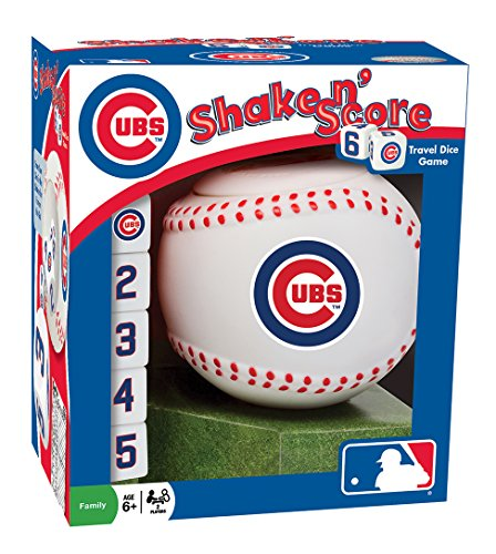 (MasterPieces MLB Chicago Cubs Shake 'n Score Dice Game)