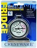 Crestware Dial Refrigerator/Freezer Thermometer