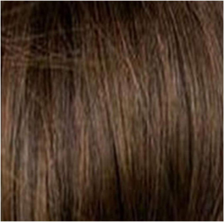 WOZOW - Peluca para mujer, estilo brasileño, pelo corto, color marrón: Amazon.es: Belleza