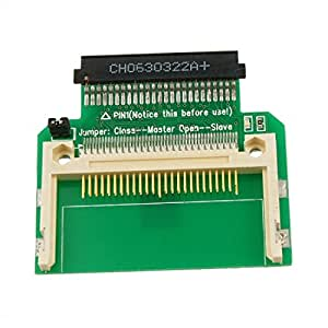 IDE de 50 pines macho para adaptador CF Compact flash adaptador hembra