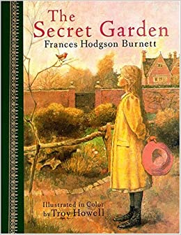 The Secret Garden Childrens Classics Series Amazoncouk Frances Hodgson Burnett Troy Howell 9780517632253 Books