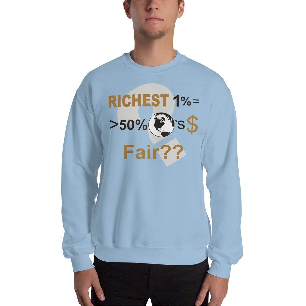 Sweatshirt Light Blue STFND Richest 1/%