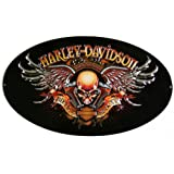 Ande Rooney 2010441 Harley Davidson Biker to the Bone Embossed Tin Sign