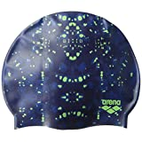 Arena Unisex-Adult Printed Silicone Swimming Cap