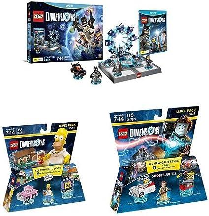LEGO - Starter Pack Dimensions (Wii U) + Level pack: Los ...