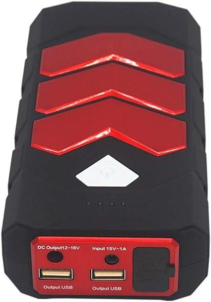 Coche Jump Starter carga rápida en & out 600A pico SuperSafe Power ...