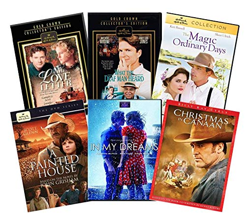 Amazon Com Hallmark Movies On Dvd 6 Pack Collection The Love Letter In My Dreams The Magic Of Ordinary Days What The Deaf Man Heard A Painted House