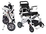Innuovo N5513A Intelligent lightweight foldable Electric Wheelchair, Compact (Net Weight 50 lbs)...