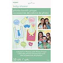 Baby Shower Photo Booth Props, 10pc