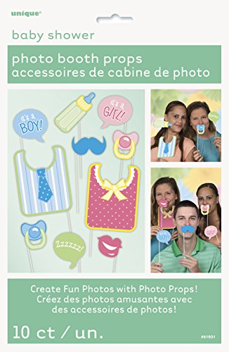Ideas For Group Halloween Costumes Funny (Baby Shower Photo Booth Props, 10pc)