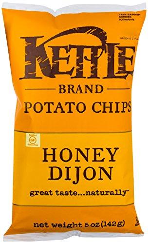 Kettle Foods Chip Potato Honey Dijon, 5 oz