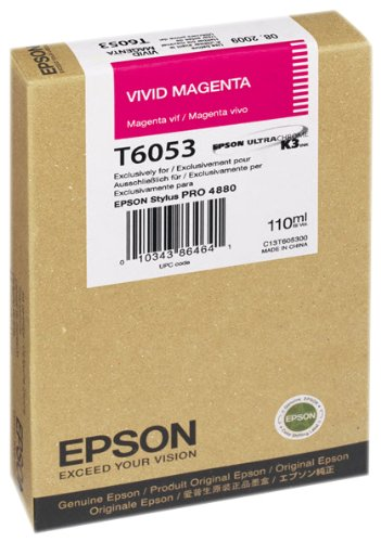 Vivid Magenta Ink Cart 110ML for Stylus Pro 4880