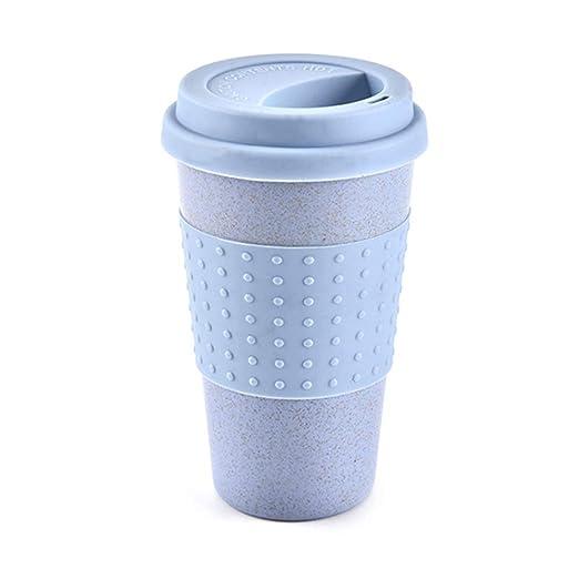CARDMOE Taza de Taza de Paja de Trigo Retro, Taza de café para ...