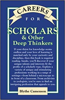 Book Careers for Scholars & Other Deep Thinkers (VGM Careers for You)