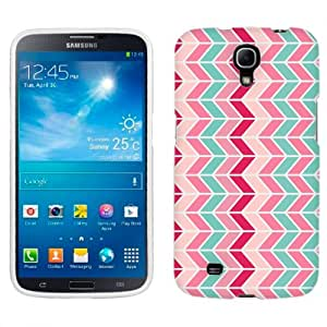 Samsung Mega Chevron Mauve Teal Pink Zig Zag Pattern Phone Case Cover
