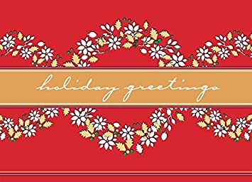 Amazon christmas holiday greeting card h1603 say thank you christmas holiday greeting card h1603 say quotthank you for your businessquot while m4hsunfo