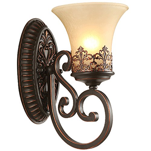 XWHZS Vintage Antique Wall Sconce Wall Lamp for Headboard Bedroom Staircase Door Porch Resin Carved Head Room 2430CM Wall Lights - Carved Headboard Antique