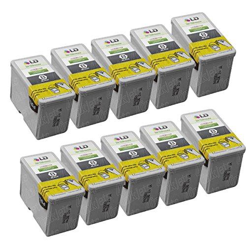 (JS 10 S020108 Black Printer Reman Ink Cartridge for Epson Stylus Color 800 800n 850)