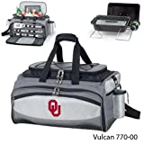 NCAA Oklahoma Sooners Embroidered Vulcan Set, One Size, Black