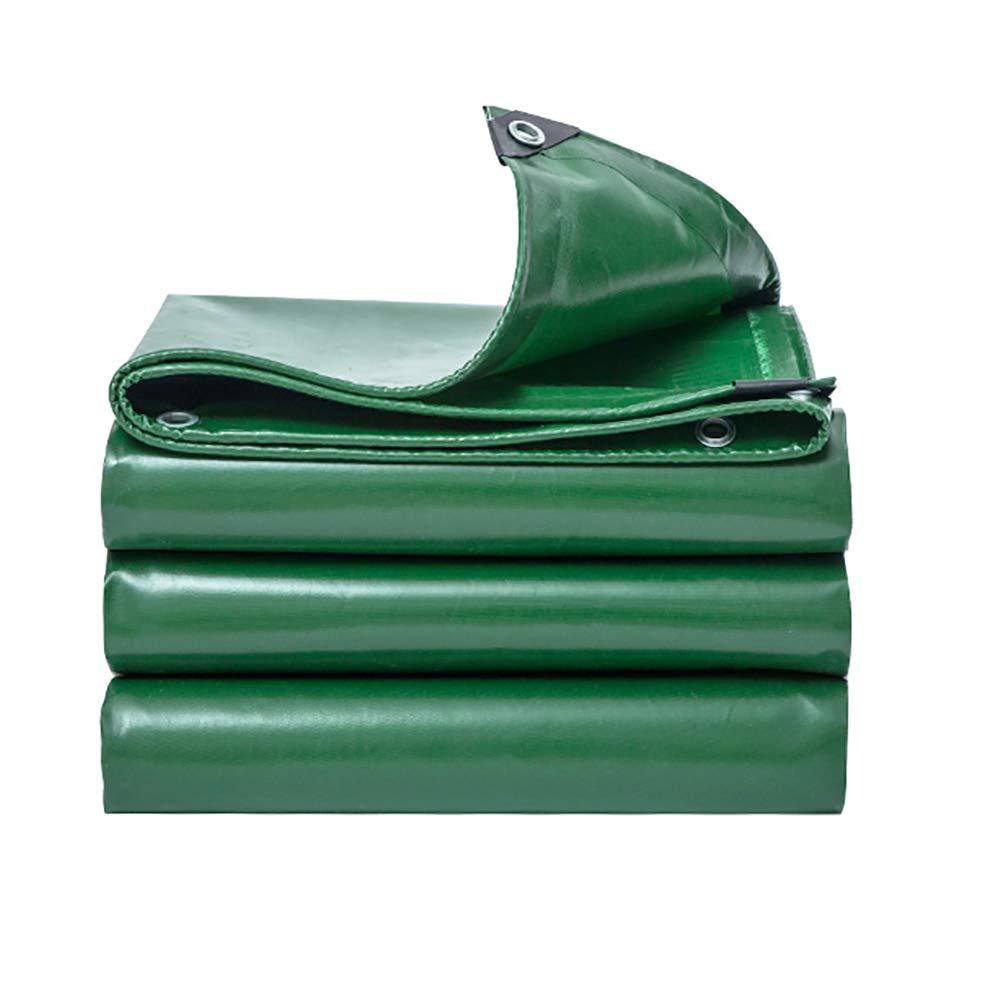 XUEYAN Addensare Telone Impermeabile Tarpauline Resistente Telo Laminato Copertine Outdoor Isolamento verde Tent Splice (Dimensioni   4x4m)