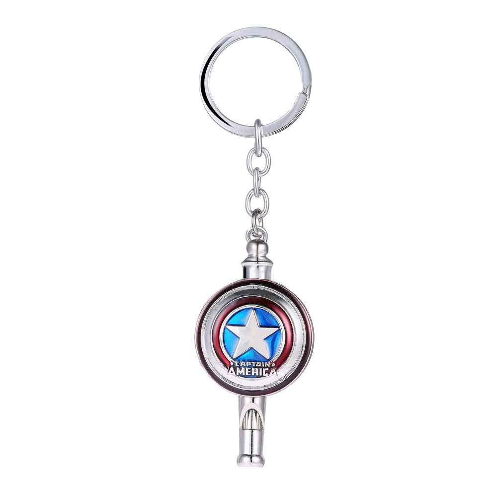 Amazon.com: Whistle Keychain Pendant Thanos Captain America ...