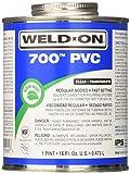 IPS 10080 700 Pt Clear PVC Cement