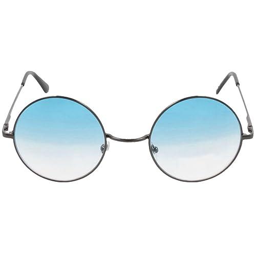 Occhiali da sole in stile John Lennon rotondi per i fan degli ani '60 - '70