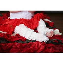 Huggalugs Baby Girls Scarlett Pettiskirt Newborn Red