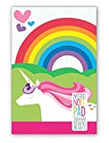 OOLY Nested Notepad, Unicorn, 90 Sheets, 6 by 4