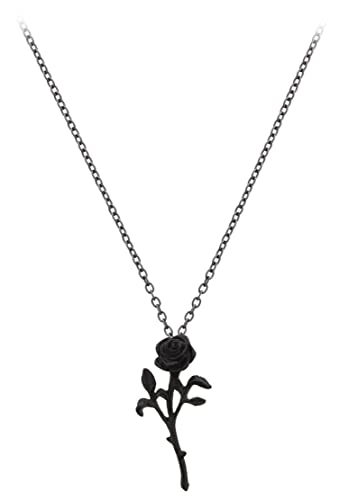 Alchemy gothic the romance of the black rose pendant amazon alchemy gothic the romance of the black rose pendant aloadofball