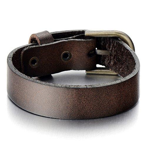 Minimalist Leather Bracelet Genuine Wristband