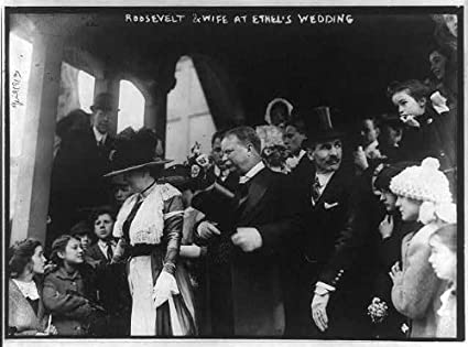 Amazoncom Historicalfindings Photo Theodore Roosevelt Edith