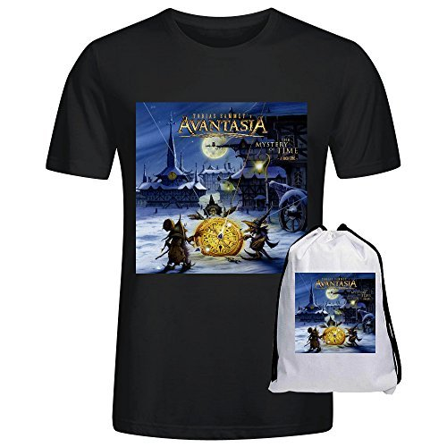 avantasia-the-mystery-of-time-printed-t-shirts-for-men-crew-neck-black