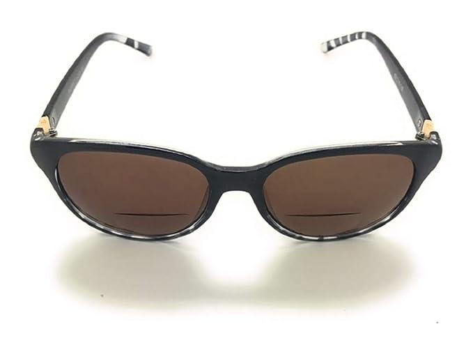 7ae972c06527 Bifocal Sun Reader Sunglasses Fashion Trendy Reading Glasses for Womens ( Black Leopard