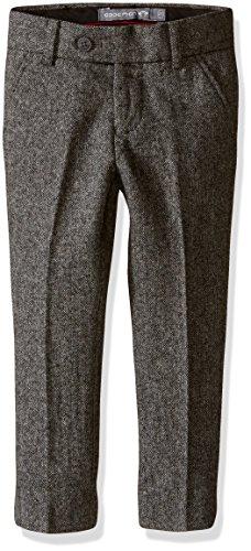 Appaman Big Boys' Fully Lined Wool Dress Pants, Tweed, 14 (Lined Tweed Suit)
