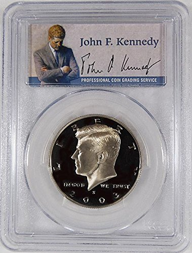 (2003 S Kennedy S Clad Proof Portrait Label Holder Half Dollar PR-69 PCGS DCAM)