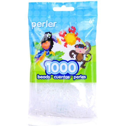 Perler Fusion Beads 1000 Pkg Clear