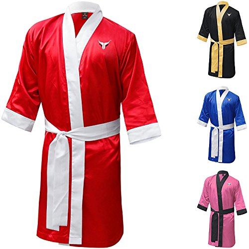 Myra Fusion boxing robe training robe personalized Muay thai gown material arts training gown training gown kickboxing gown boxing full length gown boxing robe satin boxing robe boxing dressing gown