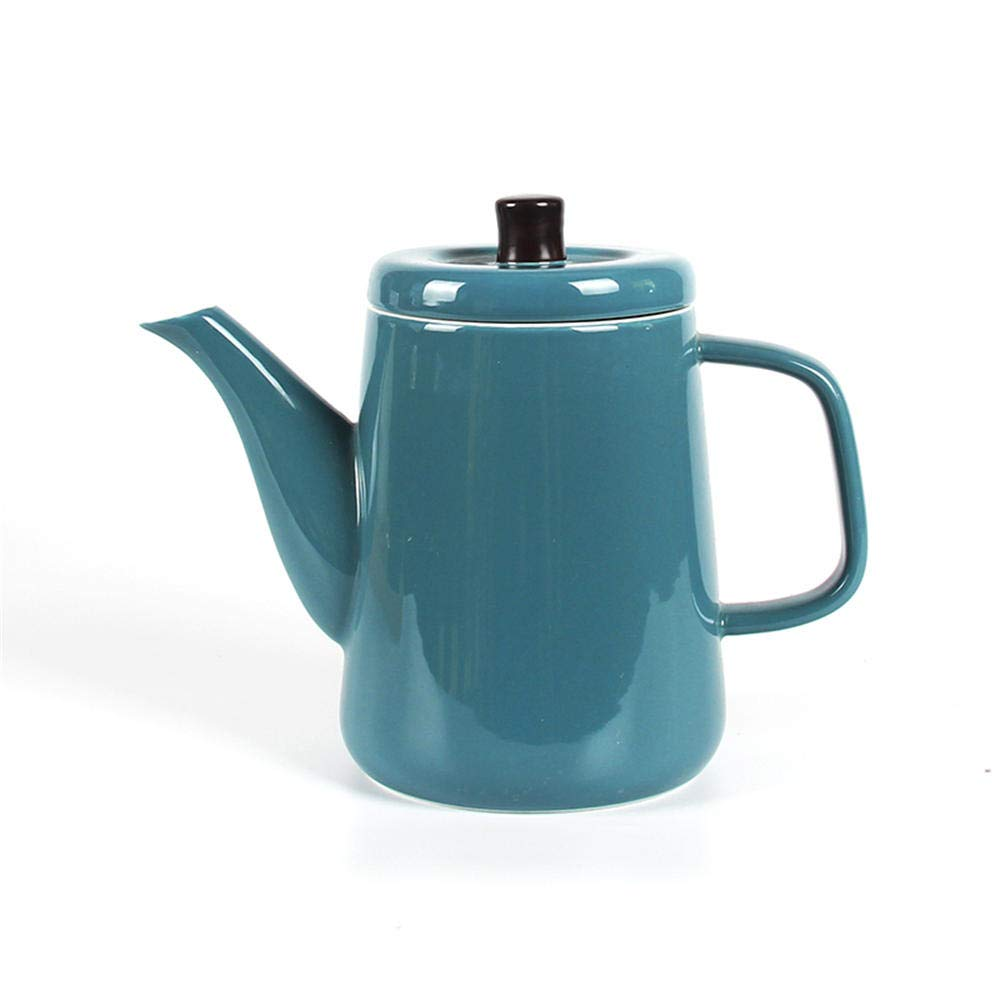 Verde retro creativo de cerámica botella de agua fría de agua en ...