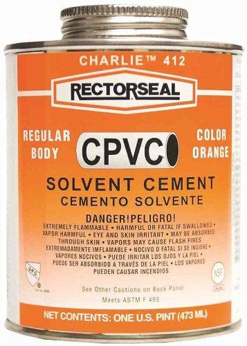 Rectorseal 55958 Pint 412L Regular Cpvc Solvent Cement ()