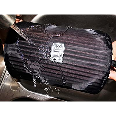 FILTERWEARS Pre-Filter F134K For Polaris RZR XP 1000 Stock Air Filters 1240822 1240957 1241084 7082097, K&N PL-1014; BLACK: Automotive