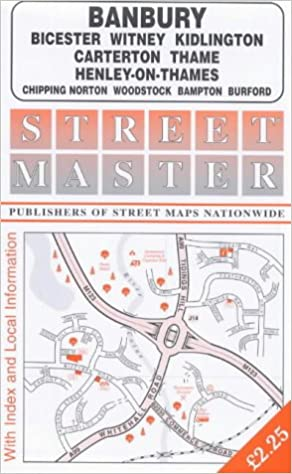 banbury street map streetmaster maps amazoncouk 9781859827376 books