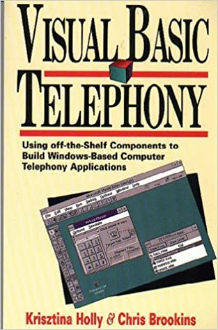 Book Visual Basic Telephony: Using Off-The-Shelf Components to Build Windows-Based Telephony Applications by Krisztina Holly (1995-03-01)