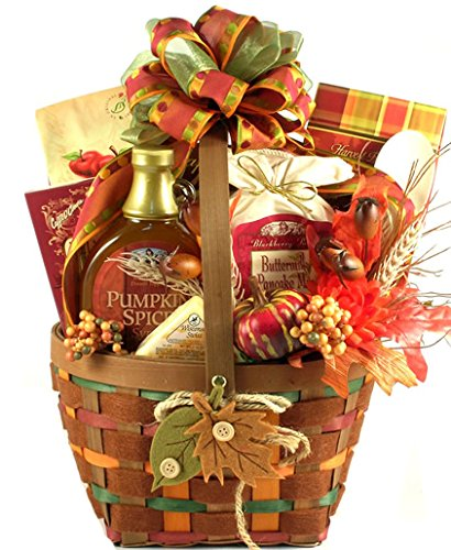 Autumn Gift Basket | Caramel Apple Butter, Pumpkin Spice Syrup and More by Gifts to Impress