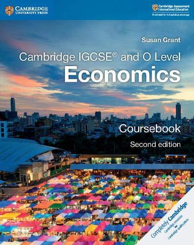 Cambridge IGCSE And O Level Economics Coursebook Cambridge